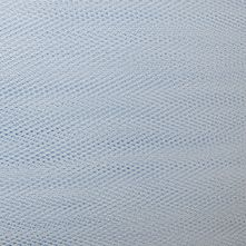 Powder Blue Dress Net Fabric